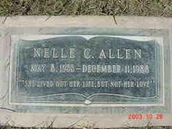 Dorothy Nelle <i>Cox</i> Allen