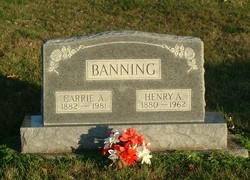 Henry A Banning