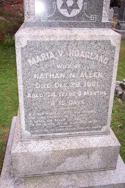 Maria VanHorne <i>Hoagland</i> Allen