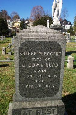 Esther M. <i>Bogart</i> Hurd