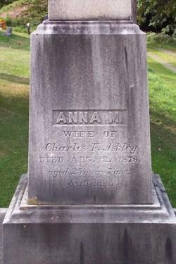 Anna M. <i>Davis</i> Ashley