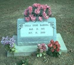 Stella <i>Stone</i> Hairrell