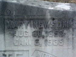 Mary Dudley <i>Newsom</i> Applewhite