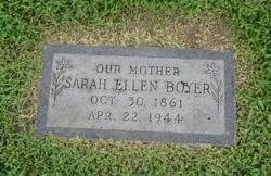 Sarah Ellen Boyer