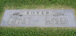 Alma G Boyer