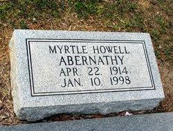 Myrtle <i>Howell</i> Abernathy