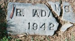 R. Adams