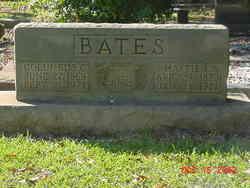 Harriet Rebecca <i>Strickland</i> Bates
