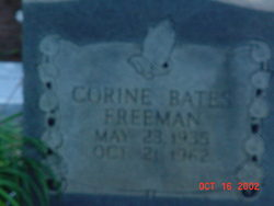 Corine <i>Bates</i> Freeman