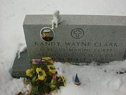Corp Randy Wayne Clark