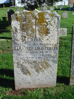 Margaret Adlesperger