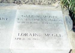 Gale William McGee