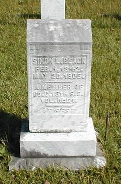 Pvt Simon L. Black