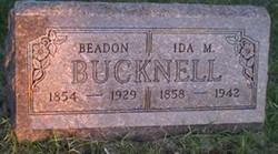 Beadon Bucknell