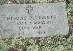 Sgt Thomas Plunkett