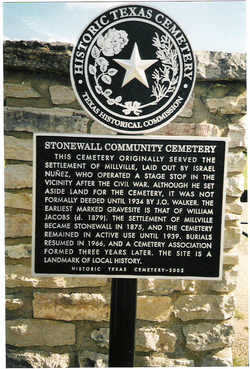 Stonewall Community Cemetery