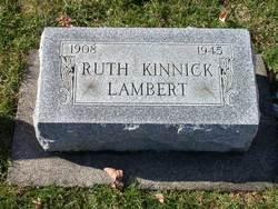 Ruth <i>Kinnick</i> Lambert