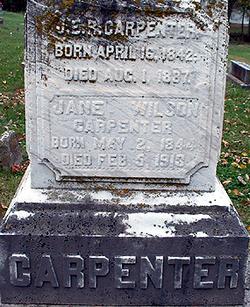 Jane <i>Wilson</i> Carpenter