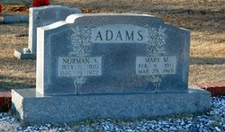 Mary M. <i>Hammond</i> Adams