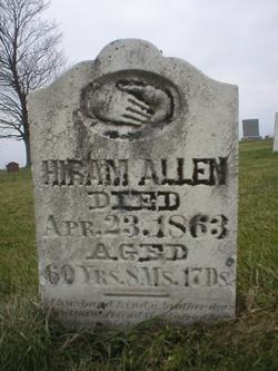 Hiram Allen (1802 - 1863) - Find A Grave Memorial