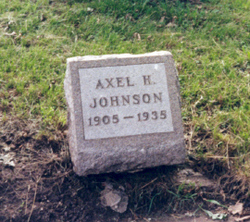 Axel Herbert Pat Johnson