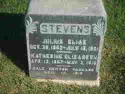 Katherine Elizabeth Stevens