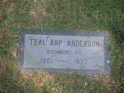Teal <i>Arp</i> Anderson