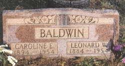 Caroline Elizabeth <i>Weadbrock</i> Baldwin