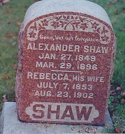 Rebecca J. <i>Moore</i> Shaw