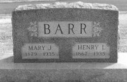 Mary Susan <i>James</i> Barr