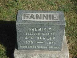 Fannie F Dunlop