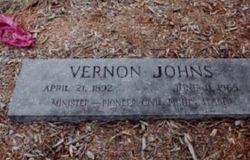 Dr Vernon Johns