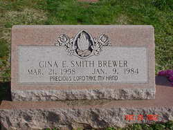 Gina E <i>Smith</i> Brewer