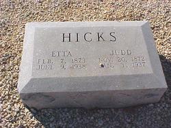 Etta <i>Burck</i> Hicks