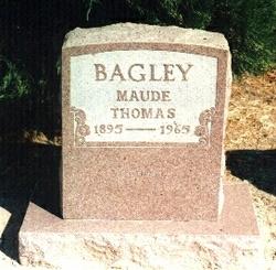 Irene Maude Lee <i>Byrd</i> Bagley
