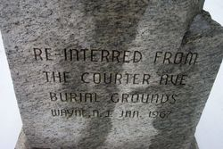 Courter Ave. Burial Ground Memorial