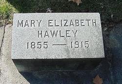 Mary Elizabeth <i>Bullock</i> Hawley