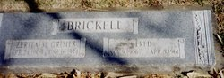 George Frederick Fred Brickell