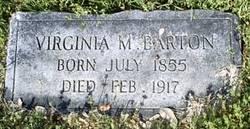 Virginia Minerva <i>Cain</i> Barton