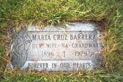 Maria Cruz Barrera