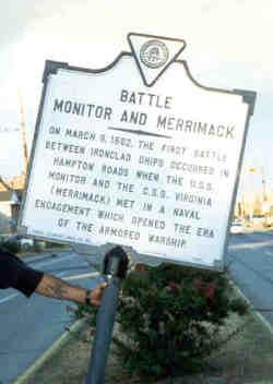 Ironclad Battle Monument