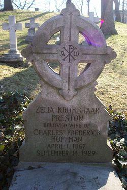 Zelia Krumbhaar <i>Preston</i> Hoffman