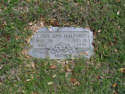 Cora Ann <i>Combs</i> Halford