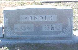 Maude <i>Halford</i> Arnold - Dunn