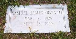 Samuel James Ervin, III