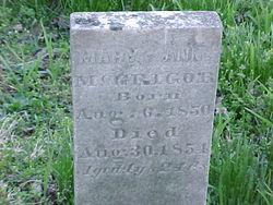 Mary Ann McGrigor