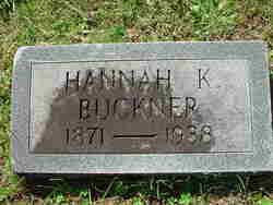 Hannah K. <i>Buckner</i> Cabe