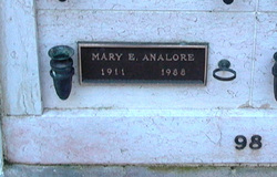 Mary E Analore