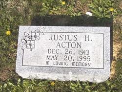 Justus H Acton