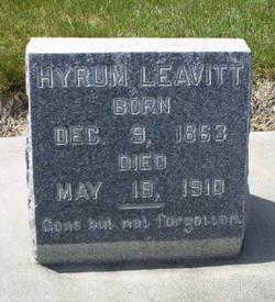 Hyrum Leavitt